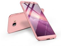 Samsung J415F Galaxy J4 Plus hátlap - GKK 360 Full Protection 3in1 - rose gold