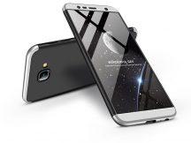 Samsung J415F Galaxy J4 Plus hátlap - GKK 360 Full Protection 3in1 - fekete/ezüst