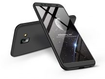 Samsung J610F Galaxy J6 Plus (2018) hátlap - GKK 360 Full Protection 3in1 - fekete