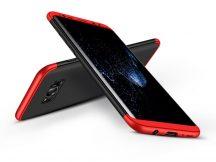 Samsung G950F Galaxy S8 hátlap - GKK 360 Full Protection 3in1 - fekete/piros