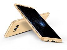 Samsung G950F Galaxy S8 hátlap - GKK 360 Full Protection 3in1 - arany