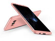 Samsung G950F Galaxy S8 hátlap - GKK 360 Full Protection 3in1 - rose gold