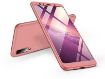 Samsung A750F Galaxy A7 (2018) hátlap - GKK 360 Full Protection 3in1 - rose gold
