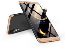 Samsung A750F Galaxy A7 (2018) hátlap - GKK 360 Full Protection 3in1 - fekete/arany
