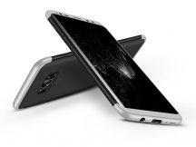 Samsung G950F Galaxy S8 hátlap - GKK 360 Full Protection 3in1 - fekete/ezüst