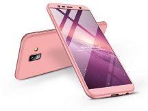 Samsung J610F Galaxy J6 Plus (2018) hátlap - GKK 360 Full Protection 3in1 - rose gold