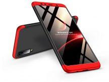Samsung A750F Galaxy A7 (2018) hátlap - GKK 360 Full Protection 3in1 - fekete/piros