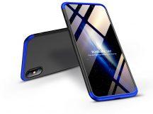 Apple iPhone XS Max hátlap - GKK 360 Full Protection 3in1 - fekete/kék