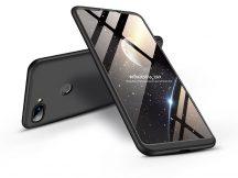 Xiaomi Mi 8 Lite hátlap - GKK 360 Full Protection 3in1 - fekete