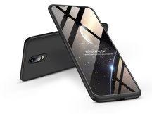 OnePlus 6T/OnePlus 7 hátlap - GKK 360 Full Protection 3in1 - fekete