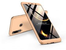Samsung A920F Galaxy A9 (2018) hátlap - GKK 360 Full Protection 3in1 - arany