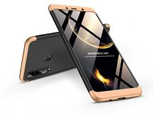 Samsung A920F Galaxy A9 (2018) hátlap - GKK 360 Full Protection 3in1 - fekete/arany