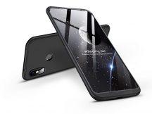 Xiaomi Redmi Note 6 Pro hátlap - GKK 360 Full Protection 3in1 - fekete