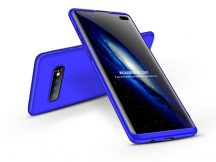 Samsung G975U Galaxy S10+ hátlap - GKK 360 Full Protection 3in1 - kék