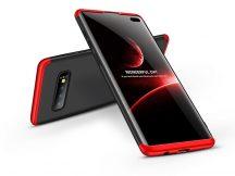 Samsung G975U Galaxy S10+ hátlap - GKK 360 Full Protection 3in1 - fekete/piros