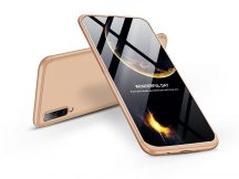 Samsung A505F Galaxy A50 hátlap - GKK 360 Full Protection 3in1 - arany