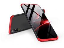 Samsung A505F Galaxy A50 hátlap - GKK 360 Full Protection 3in1 - fekete/piros