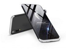 Samsung A505F Galaxy A50 hátlap - GKK 360 Full Protection 3in1 - fekete/ezüst