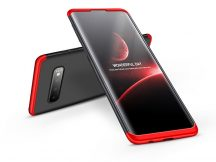 Samsung G973U Galaxy S10 hátlap - GKK 360 Full Protection 3in1 - fekete/piros