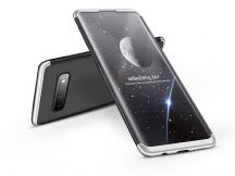 Samsung G973U Galaxy S10 hátlap - GKK 360 Full Protection 3in1 - fekete/ezüst