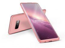Samsung G970U Galaxy S10e hátlap - GKK 360 Full Protection 3in1 - rose gold