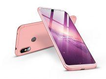 Xiaomi Redmi Note 6 Pro hátlap - GKK 360 Full Protection 3in1 - rose gold