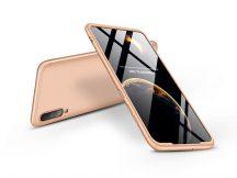 Samsung A705F Galaxy A70 hátlap - GKK 360 Full Protection 3in1 - arany