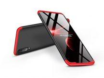 Samsung A705F Galaxy A70 hátlap - GKK 360 Full Protection 3in1 - fekete/piros