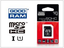 16 GB microSDHC™ UHS-I U1 Class 10 memóriakártya 60/15 + SD adapter