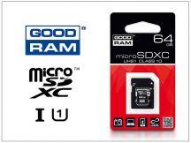 64 GB microSDXC™ UHS-1 Class 10 memóriakártya + SD adapter