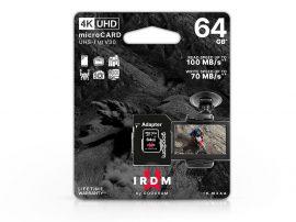 64 GB microSDXC™ UHS-1 U3 V30 memóriakártya 100/70 - 4K UHD + SD adapter