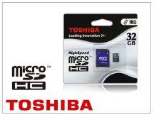 32 GB microSDHC™ Class 4 memóriakártya+SD-adapter