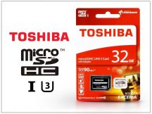32 GB microSDHC™ UHS-I U3 Class 10 memóriakártya 90/30 + SD adapter - Exceria M302/EA