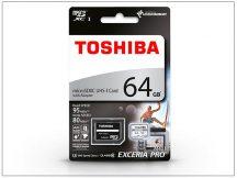 64 GB microSDXC™ UHS-I U3 Class 10 memóriakártya 95/80 + SD adapter - Exceria M401 Pro 4K