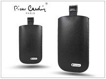 Pierre Cardin Slim univerzális tok - Samsung i9190 Galaxy S4 Mini/Sony Xperia M - Black - 24. méret