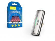 HOCO lightning + lightning adapter egyidőben történő töltéshez és zenehallgatáshoz - 5V/2.4A - HOCO LS27 - ezüst
