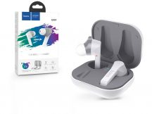 HOCO TWS Bluetooth sztereó headset v5.0 + töltőtok - HOCO ES34 Pleasure True Wireless Headset with Charging Case - fehér