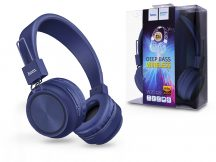 HOCO Wireless Bluetooth sztereó fejhallgató beépített mikrofonnal - HOCO W25 Promise Deep Bass Wireless - kék