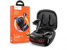 HOCO TWS Bluetooth sztereó headset v5.0 + töltőtok - HOCO ES43 Lucky Sound True Wireless Headset with Charging Case - fekete