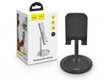 """HOCO univerzális asztali telefon/tablet tartó 4,7-10"""", méretű készülékhez - HOCO PH15 Aluminium Alloy Table Stand - fekete"""