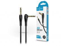 HOCO 3,5 - 3,5 mm jack audio kábel 2 m-es vezetékkel - HOCO UPA14 Aux Audio Cable - fekete