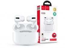 HOCO TWS Bluetooth sztereó headset v5.0 + töltőtok - HOCO ES38 True Wireless Headset with Charging Case - fehér