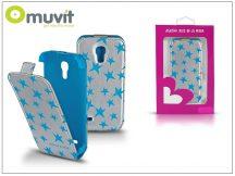 Samsung i9190 Galaxy S4 Mini flipes tok - Muvit Agatha Ruiz De La Prada - Stars Slim