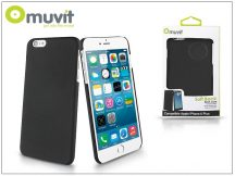 Apple iPhone 6 Plus/6S Plus hátlap - Muvit Soft Back - black