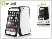 Apple iPhone 6/6S ütésálló hátlap - Muvit ShockProof - black/white