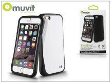 Apple iPhone 6/6S ütésálló hátlap - Muvit ShockProof - black/white