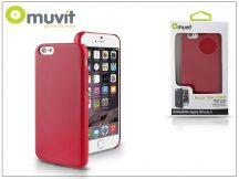 Apple iPhone 6 hátlap - Muvit Back Thin Case - rose