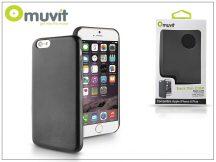 Apple iPhone 6 Plus hátlap - Muvit Back Thin Case - black