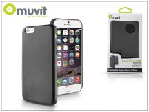 Apple iPhone 6 Plus hátlap - Muvit Back Thin Case - black