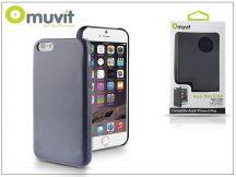Apple iPhone 6 Plus hátlap - Muvit Back Thin Case - blue